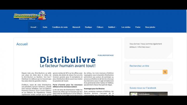 distribulivre